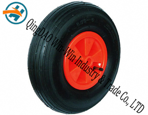 "Pneumatic Rubber Wheel for Wheelbarrow Wheel (13""X3.50-6)"
