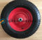 4.00-8 /400-8 Pneumatic Rubber Wheel with Steel Rim