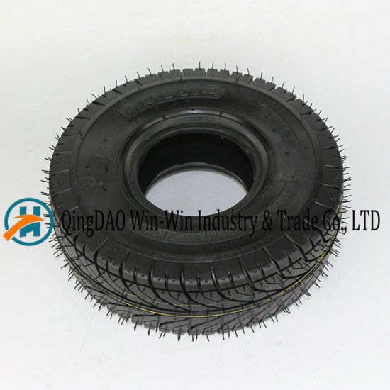 Pneumatic Rubber Wheel for Platform Trucks Wheel (3.50-4)