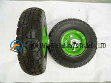 Solid PU Wheel for Hand Trolley From China Supplier (3.00-4)