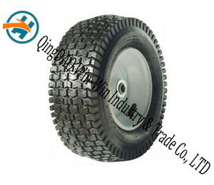 New Rubber Wheel with Big Loading (13*5.00-6)
