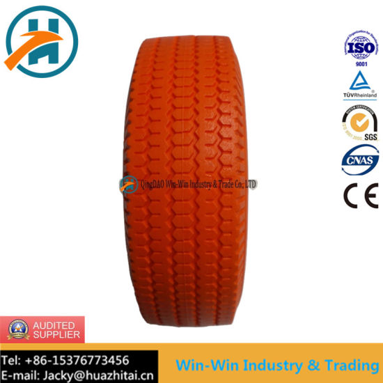 Flat-Free PU Wheel with Puncture Proof Tyre (4.10/3.50-4)