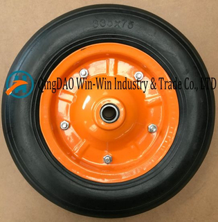 Solid Rubber Wheel for Heavy Duty Cart (335*75)