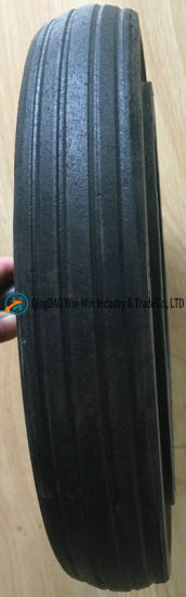 12inch Solid Rubber Wheel for Dustbin