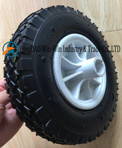 Wear-Resistant Wheelbarrow Wheel with Plastic Rim (2.50-4)