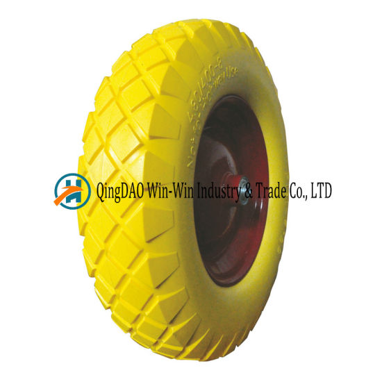 PU Foam Wheel for Trolley Wheel (4.80/4.00-8)